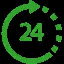 Icono 24 horas